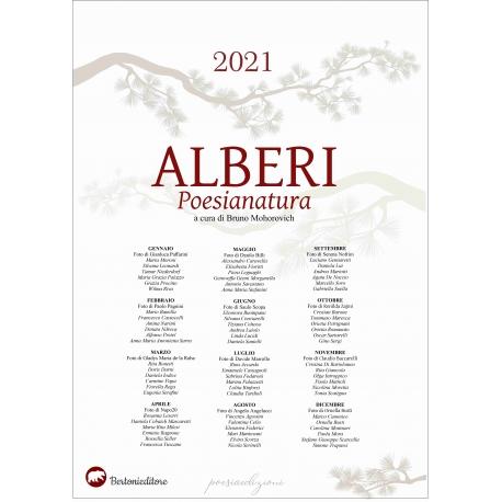 Calendario 2021 ALBERI Poesianatura